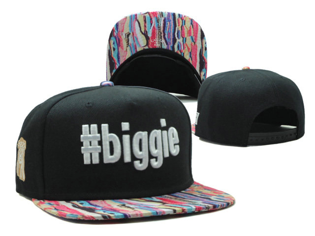 CAYLER & SONS Biggie Black Snapback Hat SF 0512